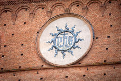 Palazzo Pubblico in Siena, Italy Stock Images