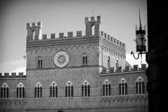 Palazzo Pubblico in Siena Stock Photo