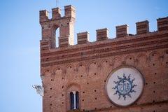 Palazzo Pubblico in Siena Royalty Free Stock Photos