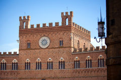 Palazzo Pubblico in Siena Stock Photos