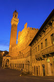 Palazzo Pubblico on Siena's Piazza del Campo in Italy Stock Images