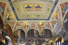 Palazzo Pubblico, Siena, Tuscany, Italy Royalty Free Stock Image