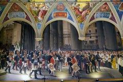 Palazzo Pubblico, Siena, Tuscany, Italy Royalty Free Stock Photo