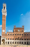 Palazzo Pubblico and Torre del Mangia. Siena Royalty Free Stock Photography