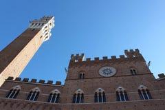 Palazzo Publico à Sienne Photographie stock