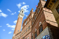 Palazzo Publico di Siena, Toscana, Italia fotografia stock