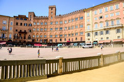 Palazzo Publico in Piazza del Campo Royalty Free Stock Photo
