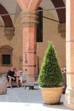 Palazzo Re Enzo in Bologna, Italy royalty free stock photography