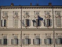Palazzo Reale在都灵 免版税库存图片