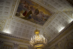 Palazzo Reale是一个开胃菜豪宅和国家博物馆的通过Balbi在热那亚意大利 免版税库存照片