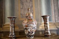 Palazzo Reale är en savojkålherrgård och ett nationellt museum på via Balbi i Genoa Italy Arkivbilder
