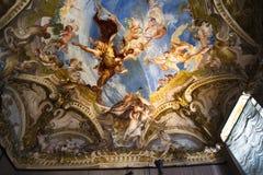 Palazzo Reale é uma mansão e um Museu Nacional do couve-de-milão no através de Balbi em Genoa Italy Fotos de Stock