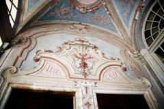 Palazzo Reale особняк и Национальный музей савойя на через Balbi в Генуе Италии Стоковая Фотография