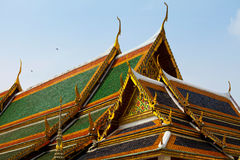 Palazzo reale a Bangkok Immagine Stock