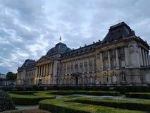 Palazzo reale a Bruxelles immagine stock libera da diritti