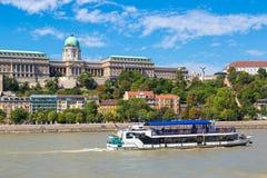 Palazzo reale a Budapest fotografie stock libere da diritti