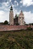 Palazzo reale del castello di Rosenborg a Copenhaghen Danimarca fotografia stock libera da diritti