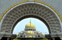 Palazzo reale della Malesia situato a Kuala Lumpur immagini stock libere da diritti