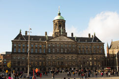 Palazzo reale di Amsterdam Immagine Stock