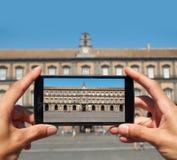 Palazzo Reale di Napoli, Campania, Italy. Stock Photography
