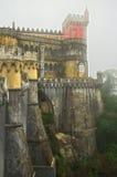 Palazzo reale di Pena, parete del nord Immagini Stock Libere da Diritti
