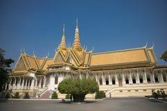 Palazzo reale di Phnom Penh Fotografia Stock Libera da Diritti