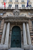 Palazzo reale door Stock Image