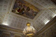 Palazzo Reale is een Savooiekoolherenhuis en een Nationaal Museum op via Balbi in Genoa Italy Royalty-vrije Stock Foto's