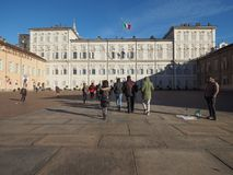 Palazzo Reale en Turín Imagen de archivo libre de regalías