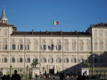 Palazzo Reale en Turín Foto de archivo