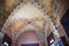 Palazzo Reale es una mansión y un Museo Nacional de la col rizada en vía Balbi en Genoa Italy Fotos de archivo libres de regalías