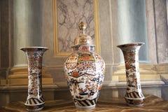 Palazzo Reale es una mansión y un Museo Nacional de la col rizada en vía Balbi en Genoa Italy Fotografía de archivo libre de regalías
