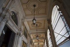 Palazzo Reale es una mansión y un Museo Nacional de la col rizada en vía Balbi en Genoa Italy Fotografía de archivo