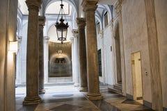 Palazzo Reale es una mansión y un Museo Nacional de la col rizada en vía Balbi en Genoa Italy Imagen de archivo libre de regalías