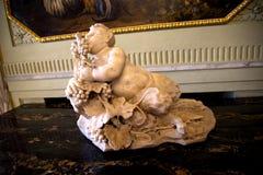 Palazzo Reale es una mansión y un Museo Nacional de la col rizada en vía Balbi en Genoa Italy Foto de archivo libre de regalías