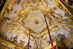 Palazzo Reale est un manoir et un Musée National de la Savoie sur par l'intermédiaire de Balbi en Genoa Italy Photo libre de droits