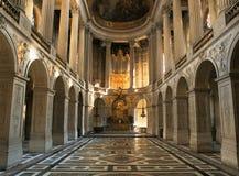 Palazzo reale Francia di Versailles della cappella Fotografia Stock