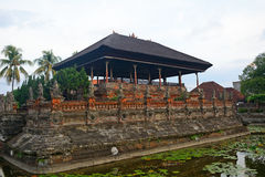 Palazzo reale, Klungkung, Bali, Indonesia immagine stock