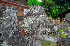 Palazzo reale, Klungkung, Bali, Indonesia fotografia stock