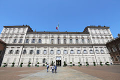 Palazzo Reale of Turin Stock Photography