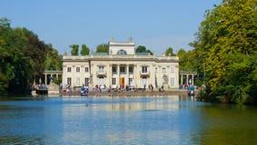 Palazzo reale in Lazenki, Varsavia, Polonia immagini stock libere da diritti