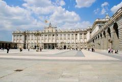 Palazzo reale, Madrid Immagine Stock Libera da Diritti
