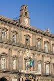 Palazzo Reale, Napels Stock Foto