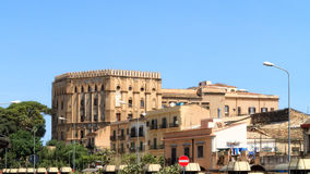 Palazzo Reale. The Palazzo Reale, the normal palace in Palermo, Sicily Royalty Free Stock Photos