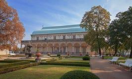 Palazzo reale o della regina di belvedere, Annedi estate fotografie stock libere da diritti