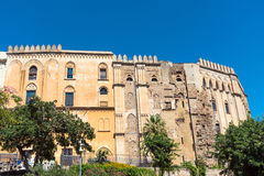 The Palazzo Reale in Palermo, Sicily Stock Images