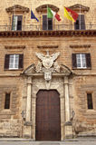 Palazzo Reale quater Stock Image