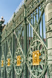 The Palazzo Reale railing, Turin Royalty Free Stock Photography