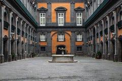 PALAZZO REALE, ROYAL PALACE, NAPOLI fotografia de stock royalty free