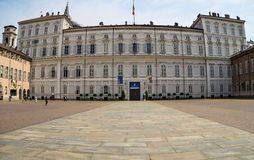 Palazzo Reale - The Royal Palace of Turin Royalty Free Stock Photo